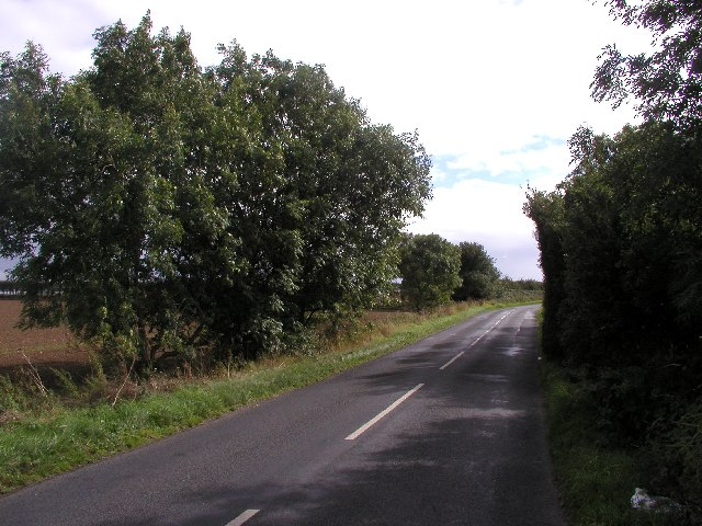 The Burton Pidsea to Burstwick road