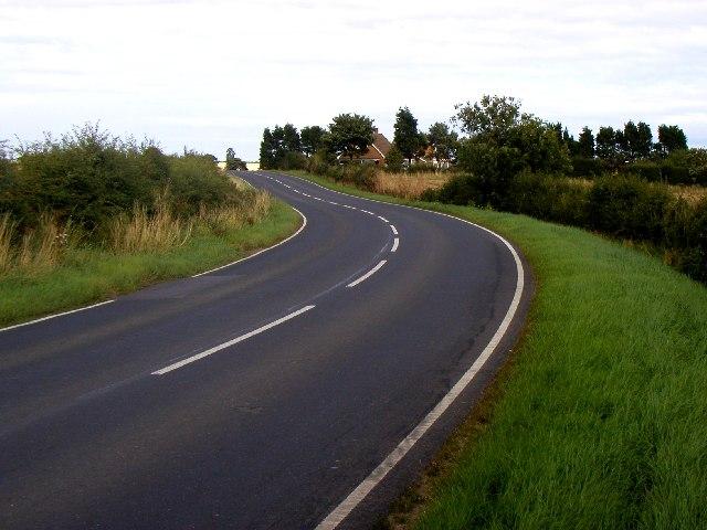 The Burton Pidsea to Roos road
