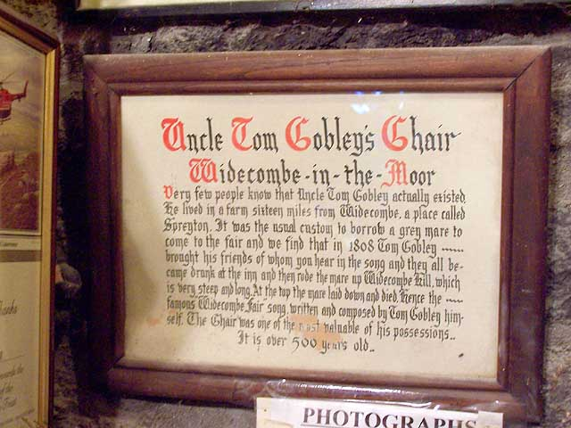 The Tale of Uncle Tom Cobley