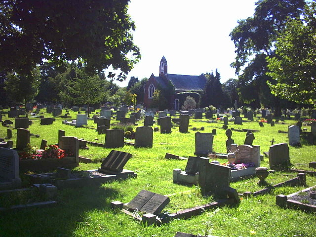 North Sheen Cemetery.