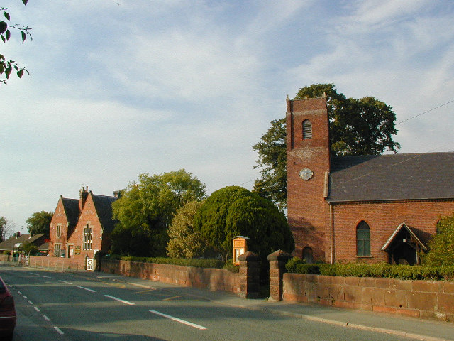 Cockshutt village