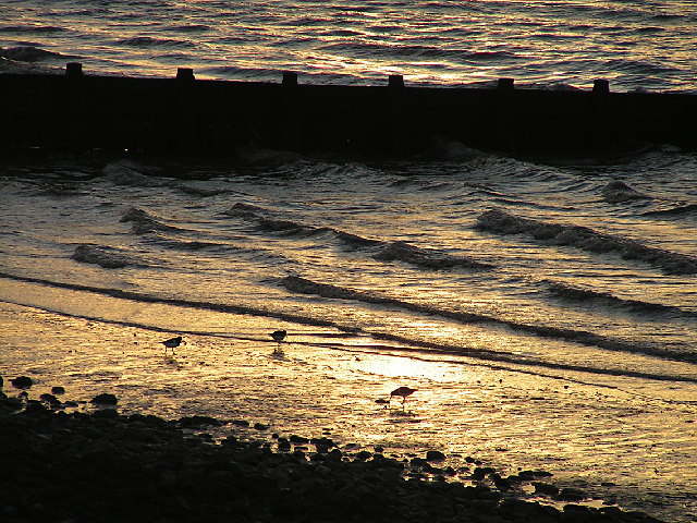.Sundown at Silloth