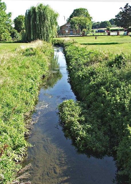 Pymme's Brook looking towards Osidge Lane