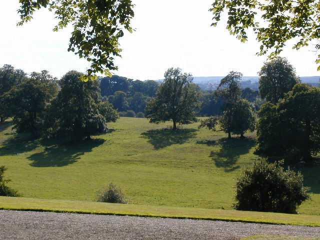 Parkland from the house at Erddig.