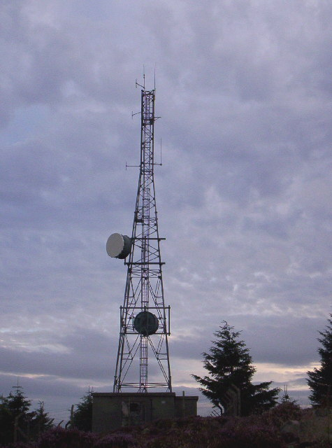 Telecommunications Mast - Cairn Mon Earn