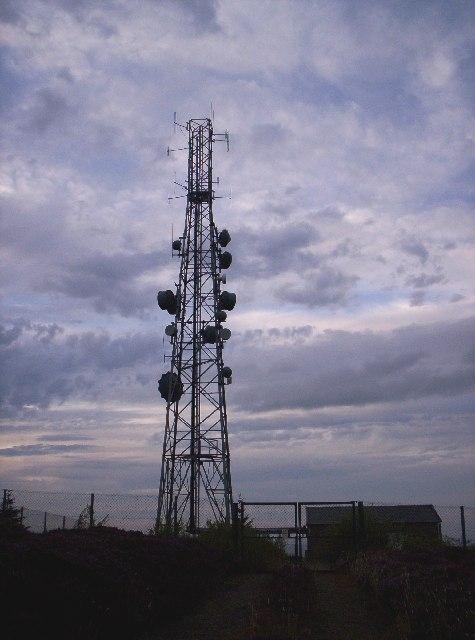 Telecommunications Mast - Cairn Mon Earn