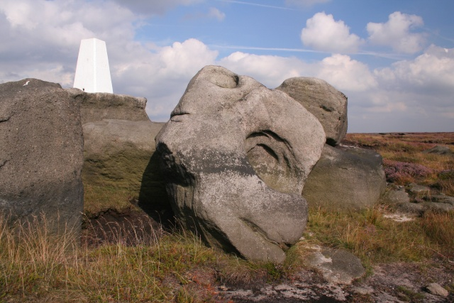 Trig point, Little Holder Stones