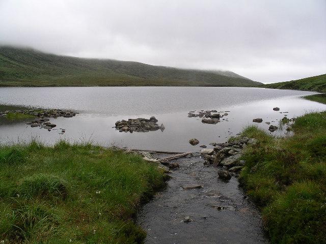 Outflow, Loch nan Uan