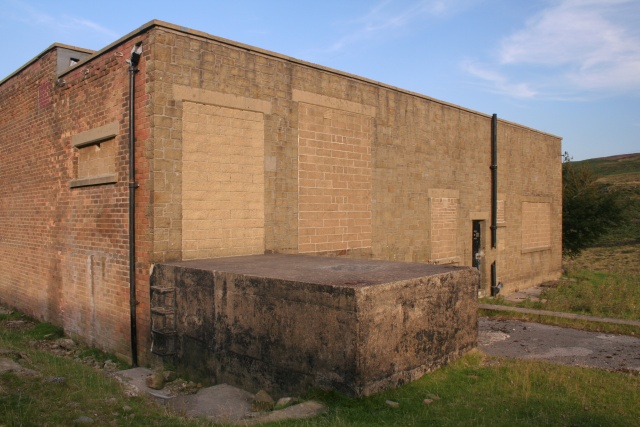 Bricked-up building, Withens Clough Reservoir