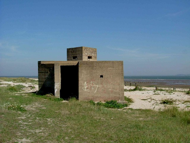 Pillbox on Swale Nature Reserve