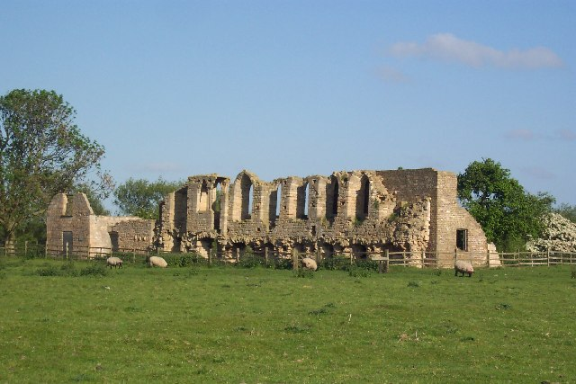 Ruins of Tupholme Abbey, near Southrey