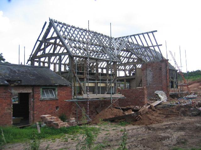 Barn Conversion in progress