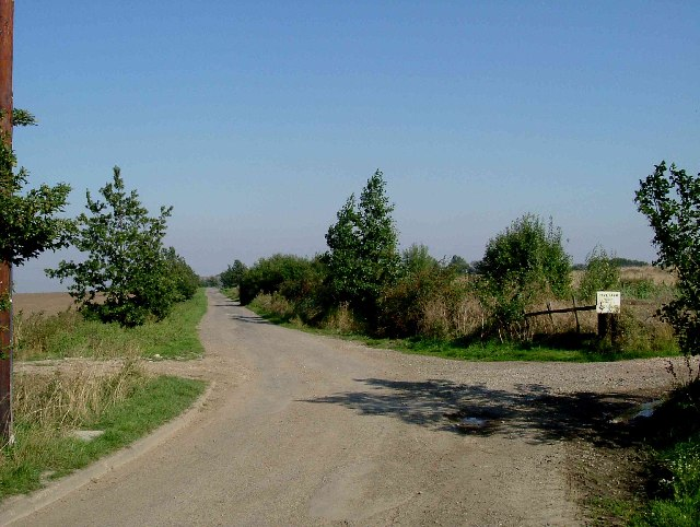 Lane to Harty Church