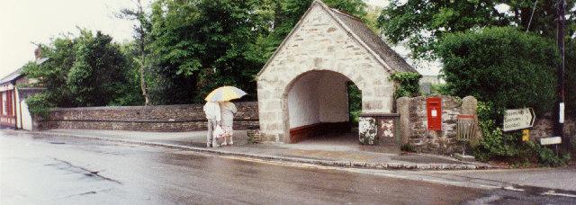 Garden of Rest southwest gate, St Agnes