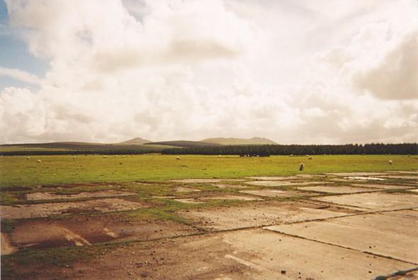 Davidstow airfield, Bodmin Moor