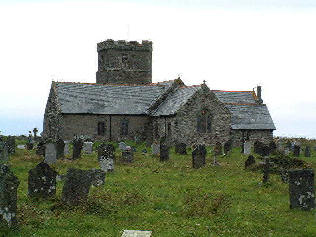 St Materiana Church , Tintagel