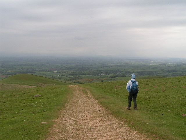 Descending to Dufton on the Pennine Way