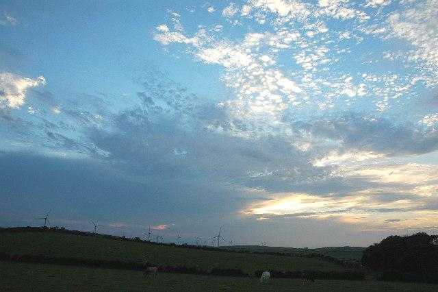 Rhyd-y-Groes windfarm