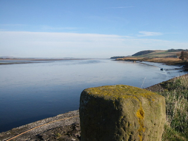 The Tay estuary from Newburgh harbour