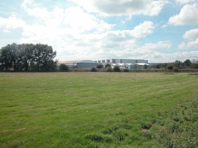 Near Aerospace factory