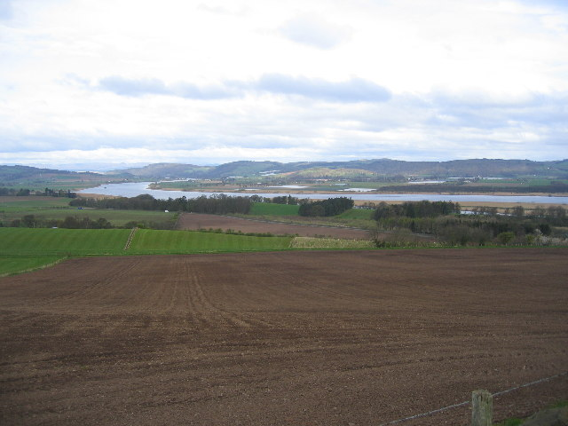 Tay Valley from Woodriffe Road SW of Newburgh