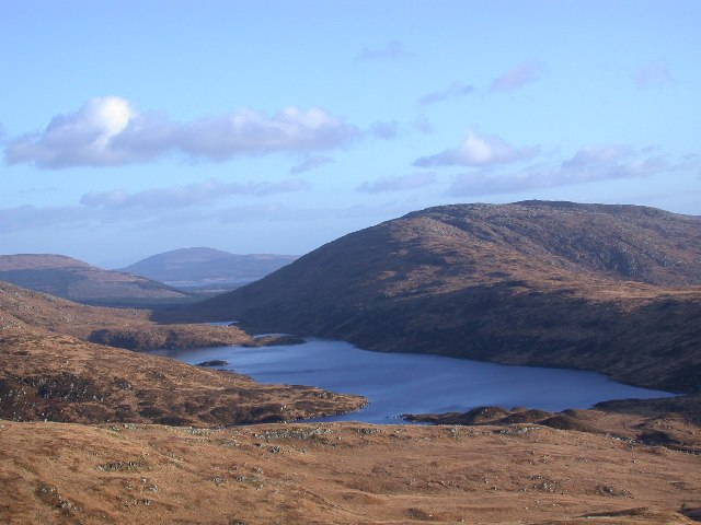 Loch Valley from the northern ridge approach to Buchan Hill