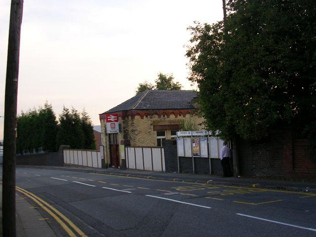 Moorside Railway Station