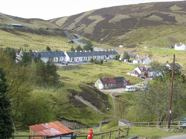 Wanlockhead, from the Youth Hostel