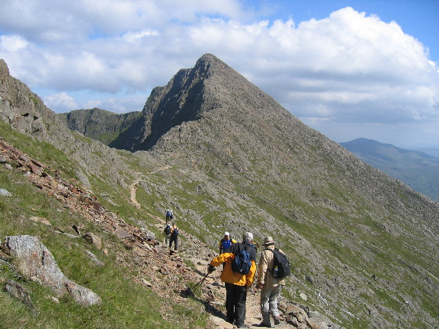 Y Lliwedd from the north west