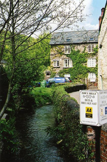 Dulverton: Town Mills