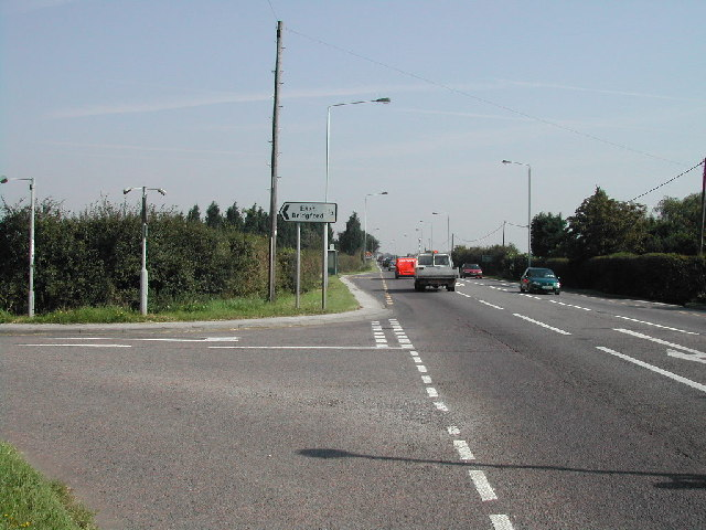 Junction of The Fosse Way and Butt Lane