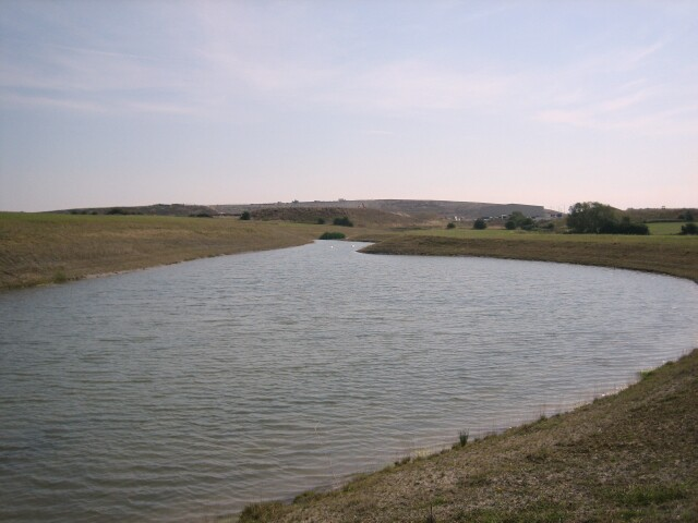 Artificial Lake & Land-fill Site