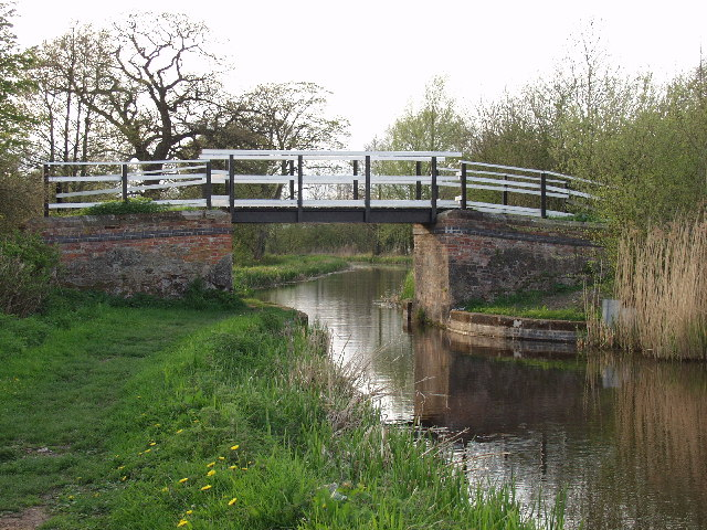 Montgomery Canal. Bridge near Maesbury Marsh