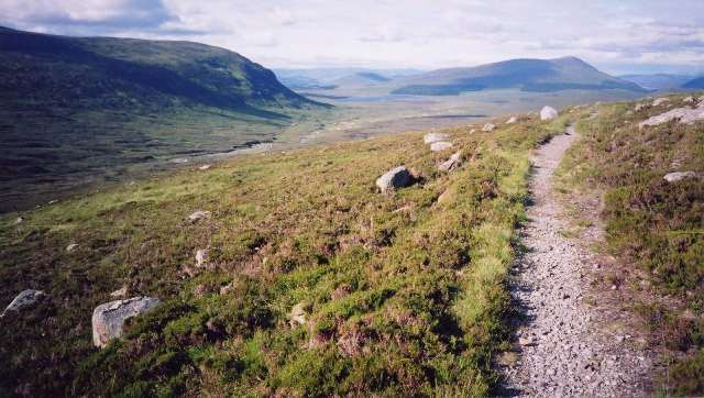 Culra from Ben Alder path