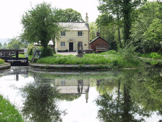 Lock House at Burgedin Lock on the Montgomery Canal