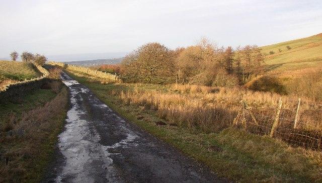 Mosser Road looking North