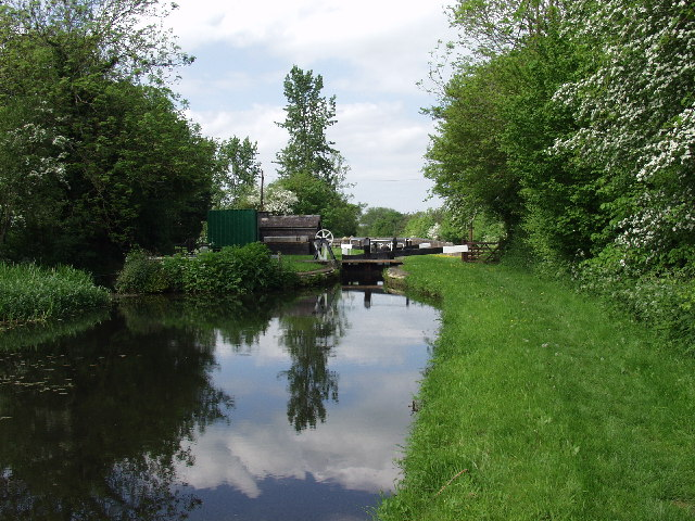 Montgomery Canal above Bank Lock