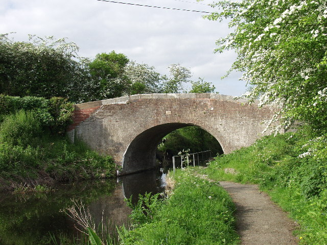 Canal bridge at Buttington Cross,  Welshpool