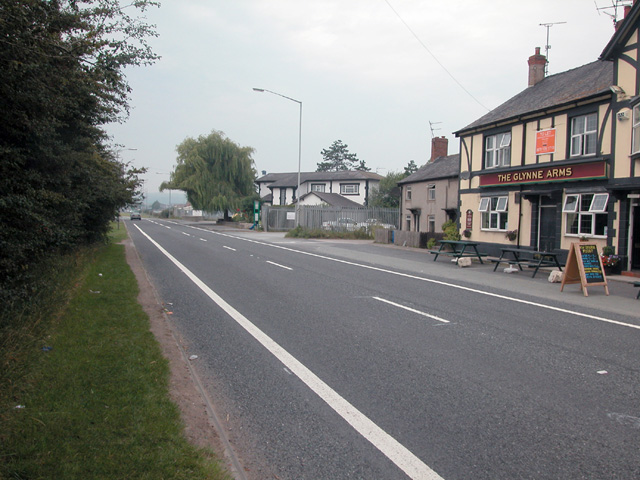 Glynne Arms, Broughton
