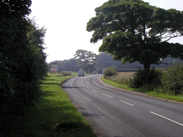 The road to Bridlington