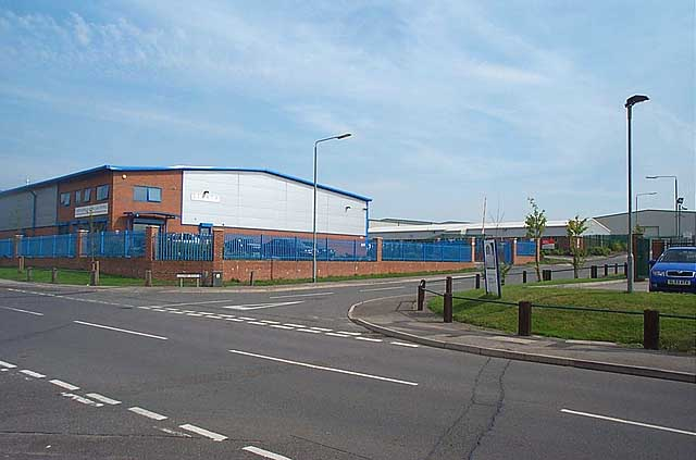 Moorgreen Colliery Industrial Site