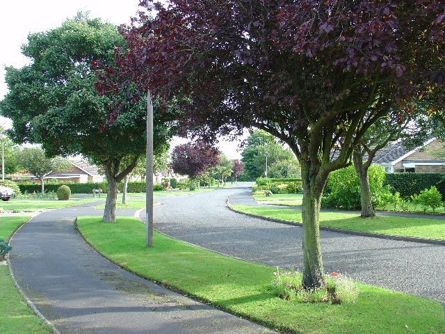"Modern Residential Area of Nettleham: ""Greenfields"", Nettleham Lincolnshire"