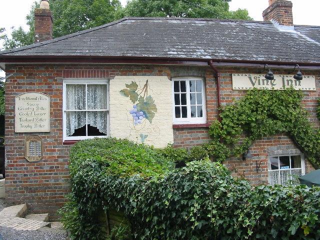 The Vine Inn, Pamphill, near Wimborne.