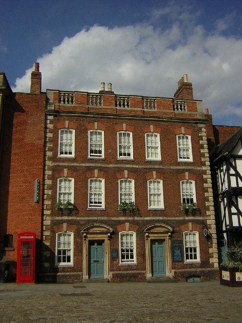 Georgian Houses, Castle Square, Lincoln