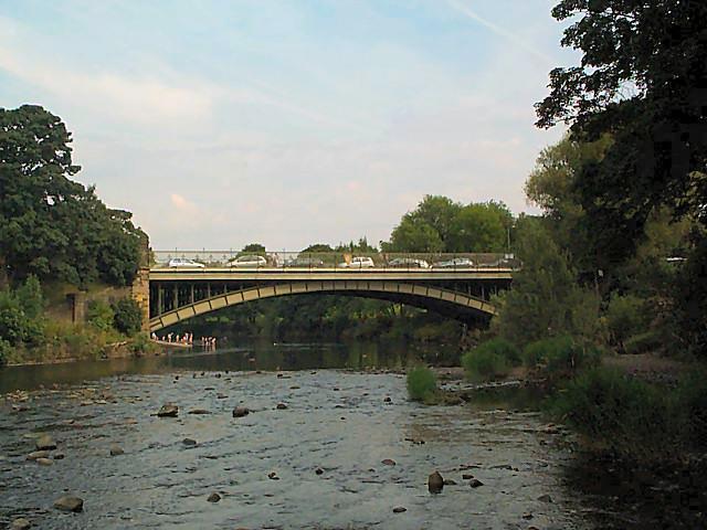 Bridge over the River Wharfe at Ilkley