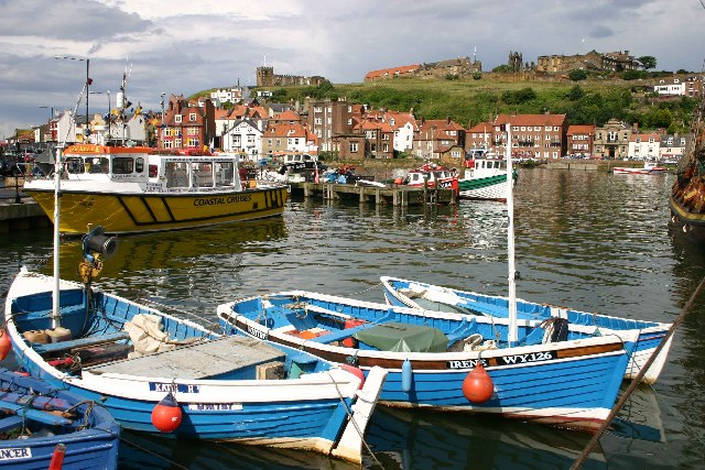 Whitby harbour from new Quay