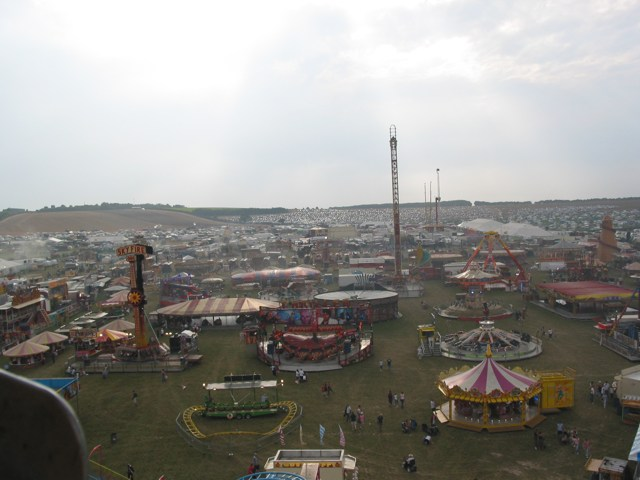 Great Dorset Steam Fair looking WSW