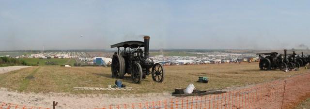 Great Dorset Steam Fair looking N