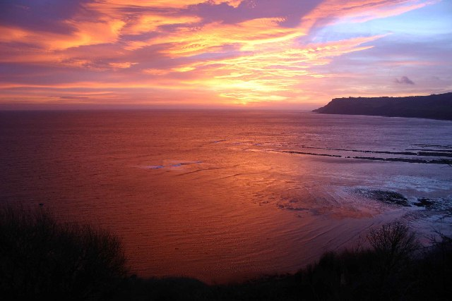 Robin Hood's Bay at Sunrise