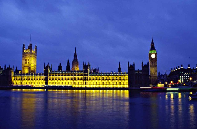 Houses of Parliament at Dusk